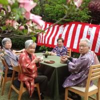 お花見とお茶会